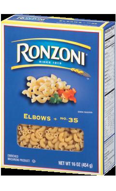 Ronzoni® - Elbows - The Pasta That
