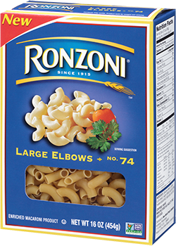 Large Elbows Are Short Curved Tubular Pasta In A Semi Circle Shape Large Elbows Are Versatile Because Of Their Short Cooking Time And Familiar Shape