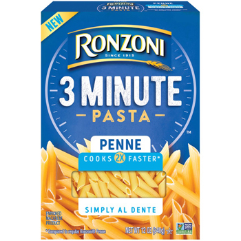 Ronzoni® - 3 Minute Penne - The Pasta That Calls America Home™